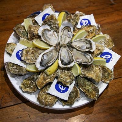 Plateau découverte 100% huîtres (pour 2/4 personnes)