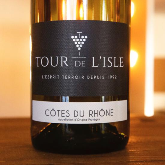 Côtes du Rhône Blanc 2020 Tour de l'Isle