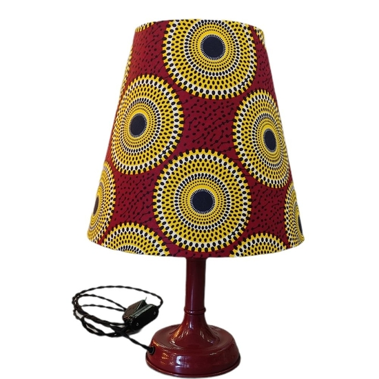 Lampe à poser esprit Africain