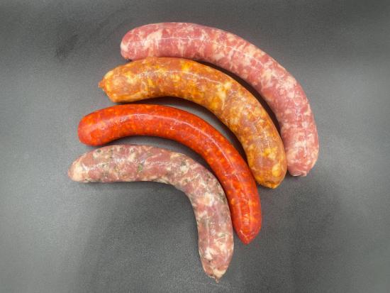 grillades saucisses/merguez x24 - BBQ