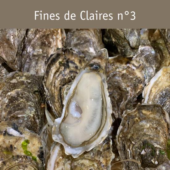 Fines Claires n°3 - sur plateau*