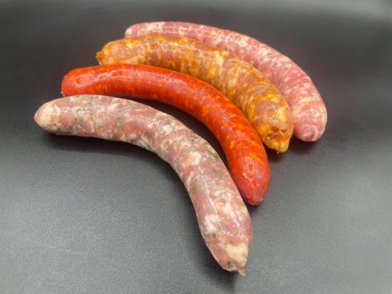 grillades saucisses/merguez X18 - BBQ