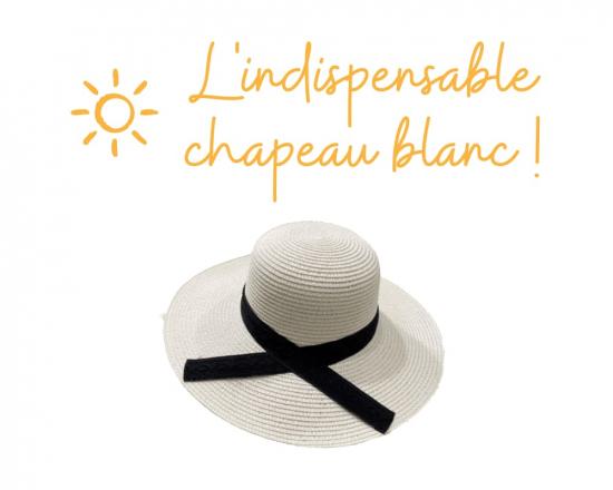 Accessoire de mode pour l'été, le chapeau