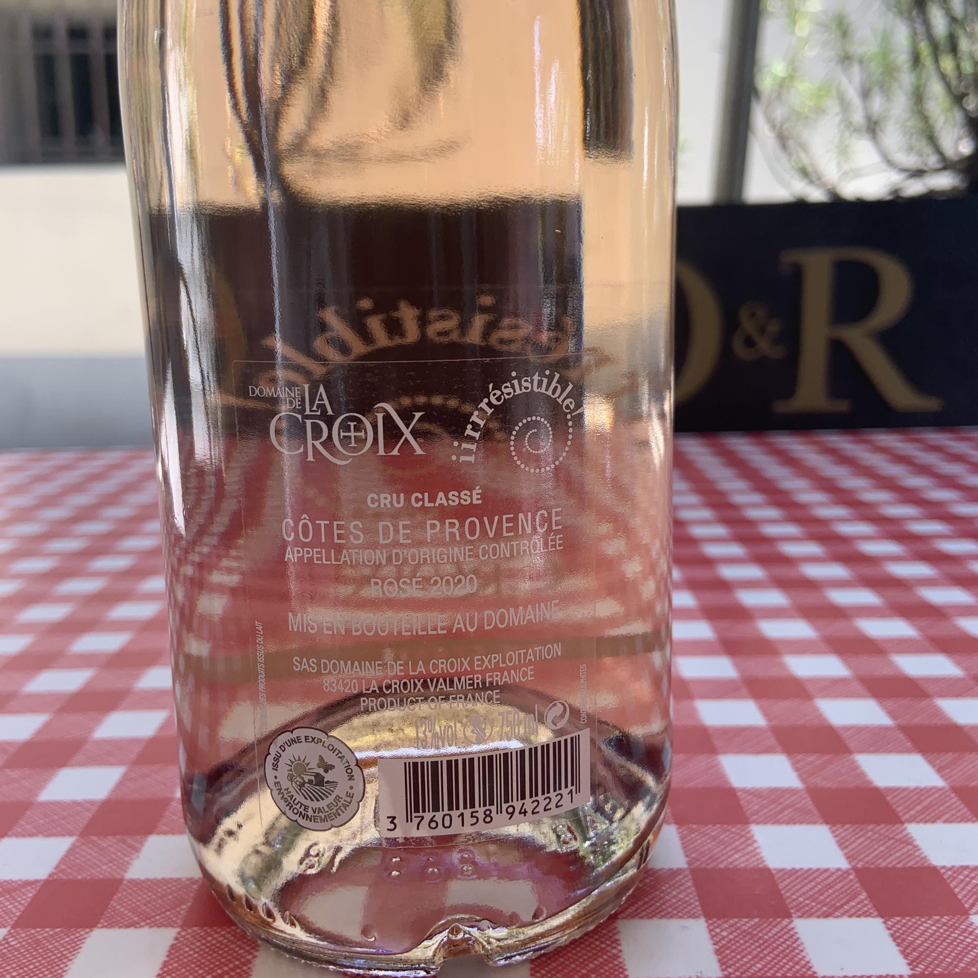 Vin ROSE IIRRESISTIBLE